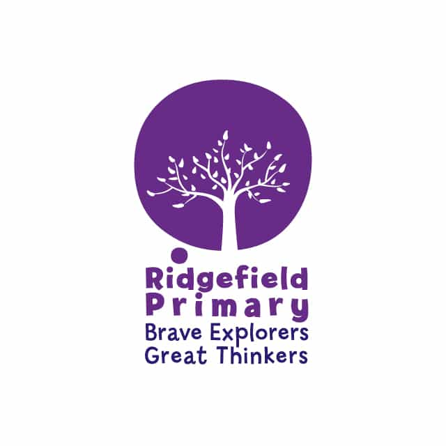 Logo Design for Ridgefield Primary School Branding by 2idesign Graphic Design Agency Cambridge
