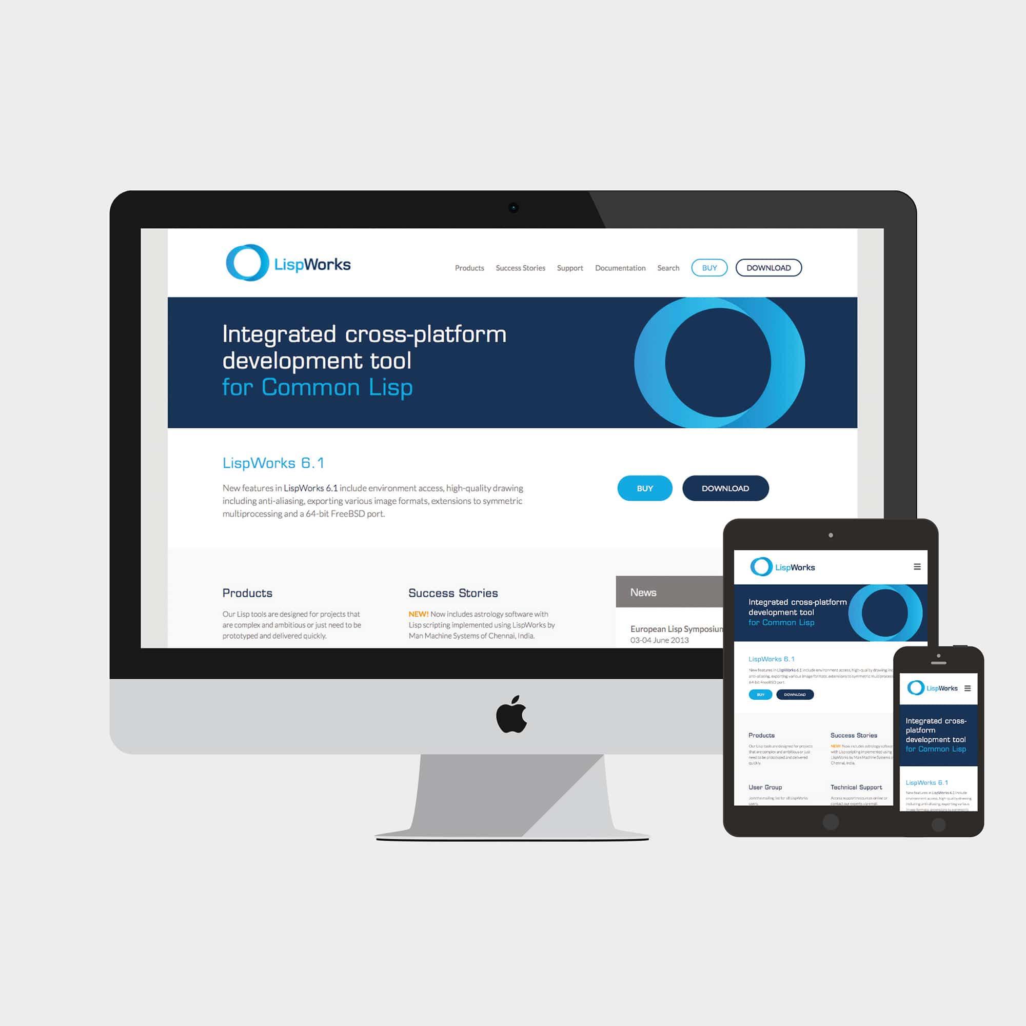 LispWorks / Branding / Website Design / Cambridge